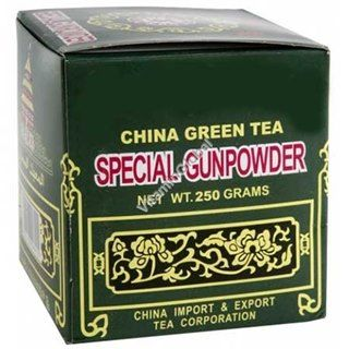 תה ירוק Gunpowder 绿茶粉